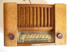 Poste radio à lampes GRAMMONT 5016, vintage 1950, port gratuit !