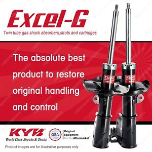 2 x Front KYB EXCEL-G Strut Shock Absorbers for MAZDA 323 BJ I4 FWD Hatch 98-03