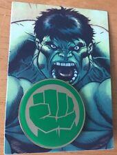 Hulk Collectors Pin Avengers Iron Man Cap. America Spider Man X Men