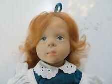 "Fanouche Doll Gotz Sylvia Natterer  Red Hair Freckles W Germany 18"""