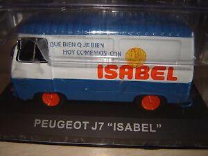 "PEUGEOT J7 ""ISABEL""  ALTAYA-IXO 1/43"