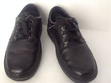 Langer PPT Propet Black Therapeutic Athletic Walking Leather Shoes Size 9  X 3 E