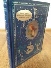 Peter Pan JM Barrie Leather Bound Book / fine binding