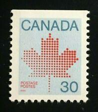 Canada #923bs Bottom MNH, Maple Leaf Definitive Booklet Stamp 1982