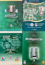 More details for 4 x worthington cup final programmes, 1999, 2001, 2002, 2003