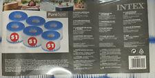 6 x Filterkartusche S1 Pure Spa Intex Whirlpool Filter NEU & OVP , (K)