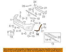 TOYOTA OEM 09-12 RAV4 Front Bumper-Extension Left 526720R020