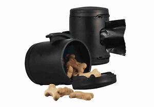 Flexi Multi Box Dog Puppy Lead Accessories Treat Poop Roll Bags Dispenser Black