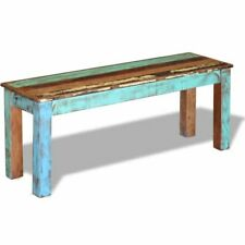 Garden Bench Solid Reclaimed Wood Dining Seats Outdoor Home Hall Chair Lounge