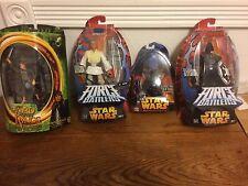 3 star wars figurines 1 Lord of the rings figurine VADER SKYWALKER SAM WISE