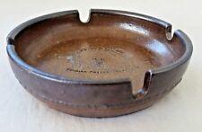 Vintage Bendigo Pottery Epsom Stoneware Stables Gallery Ashtray Ken Tresize