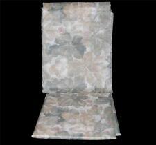 "Croscill WILDBERRY Sheer (Scarf-like) Leaves Curtain Window Panel 58"" W x 86"" L"