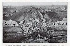 02 HIRSON VIADUC DU GLAND DETRUIT IMAGE 1919 OLD PRINT