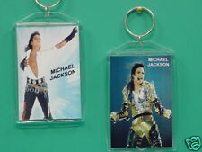 MICHAEL JACKSON - with 2 Photos - Designer Collectible GIFT Keychain 03