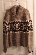 RRL Intarsia Shawl Collar Hand Knit Sweater XL NWT  Ralph Lauren