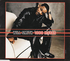 MAXI CD SINGLE COLLECTOR 1T WILL SMITH 1000 KISSES DE 2002 TBE