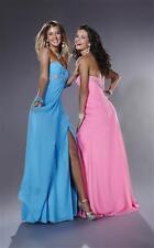 NWT Tiffanny Pink Formal Pageant Dress Gown Chiffon Full Length Sz 10, $318 NEW