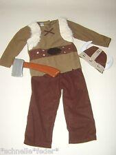 Wikinger Seefahrer Kostüm Kinder Axt + Helm Mütze Mittelalter Gr. 98 104 NEU