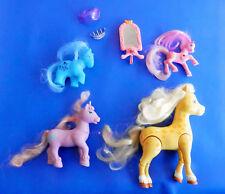 Lot de 4 petits poneys et 3 accessoires (sous marque !)