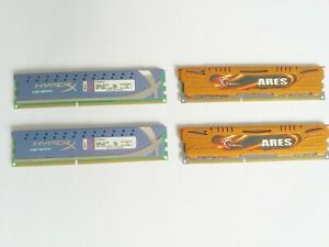 Lot RAM 16go DDR3 de marque PC3-12800 1600Mhz (4x4 gb) Kingston G.Skill