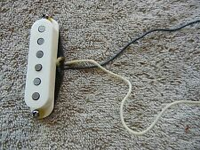 Fender  Texas Special Stratocaster Strat Neck Pickup white cover