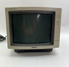 """Sony 13"""" Trinitron PVM-1390 Vintage Color Monitor"""