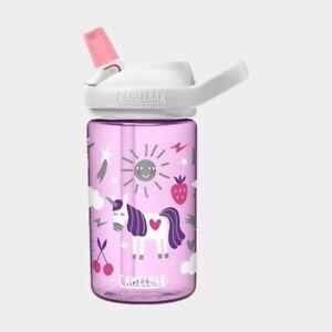 Eddy+ Kid's BPA Free Water Bottle by Camelbak 14oz Unicorn Party Purple