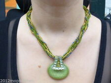 Bronze Modeschmuck-Halsketten & -Anhänger mit Strass-Perlen