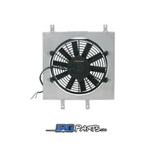 Mishimoto Aluminum Radiator Fan Shroud Kit Fits 1992-1995 Honda Civic