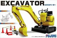 Fujimi GT24 116068 Garage & Tool Series Mini Excavator 1/32 Scale Kit