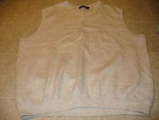 Ping Collection Size M tan golf pull-over v-neck vest