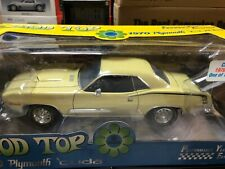 1970 PLYMOUTH CUDA 440 COUPE CHASE CAR 1/18 by HIGHWAY 61 NEW IN BOX 1 OF 200