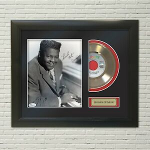 Fats Domino Aint That A Shame Framed Reproduction Signature 45 Record Display