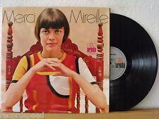 ★★ LP - MIREILLE MATHIEU - Merci Mireille - Multi-Klapp-Cover inkl. Poster