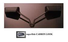 COPPIA specchietti retrovisori custom moto naked carbon look Formula 1 style M10
