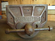 VINTAGE PARKINSONS PERFECT No.15 CARPENTRY QUICK RELEASE BENCH VICE (Not record)