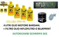 KIT TAGLIANDO MOTO DUCATI STREEFIGHTER FILTRO + OLIO MOTORE BARDAHL XTC 10W40
