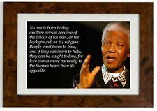 Nelson Mandela Quote Framed Print