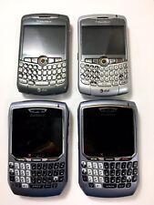 Lot Of 4 Blackberry Smartphones Broken For Parts Only