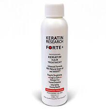 Tratamiento Profesional de Keratina Forte Brasilera por 4oz Keratin Research