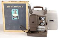 Vintage Bell & Howell Model 253 AX 8 mm Projector Working Needs Bulb Replaced