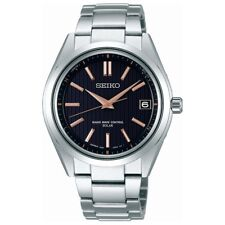 Seiko BRIGHTZ Solar radio titanium black face SAGZ087 Men's watch F/S EMS