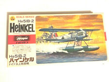VINTAGE HASEGAWA 1/72 HEINKEL He-51 B-2 FLOATPLANE/FIGHER !!