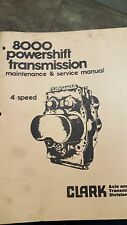 Clark-Hurth Powershift Transmission 8000