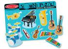 Melissa & Doug Musical Instruments 8 piece Wooden Sound Jigsaw Puzzle MND732