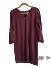 CHICO'S Ponte Stretch Bell Sleeve Sheath Dress Size 1 US 8 / 10 Medium NWT