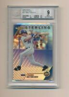 1999 Finest Refractors #257 Mike Piazza BGS 9