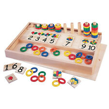 Balloons & Rings - Wooden Educational Toy - 3 Years+