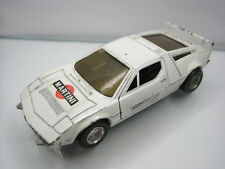 Diecast Made in Hong Kong Maserati Bora 1/37 White Good Used Condition