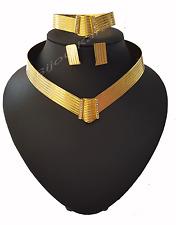 Trabzon Taki Set 22 Ayar Altin Kaplama Jeweler Model Gold Set Bracelet Kolye Dü